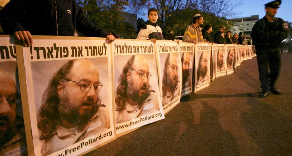 İsrail, Pollard'ın serbest bırakılması için yıllardır kampanya düzenliyor.
