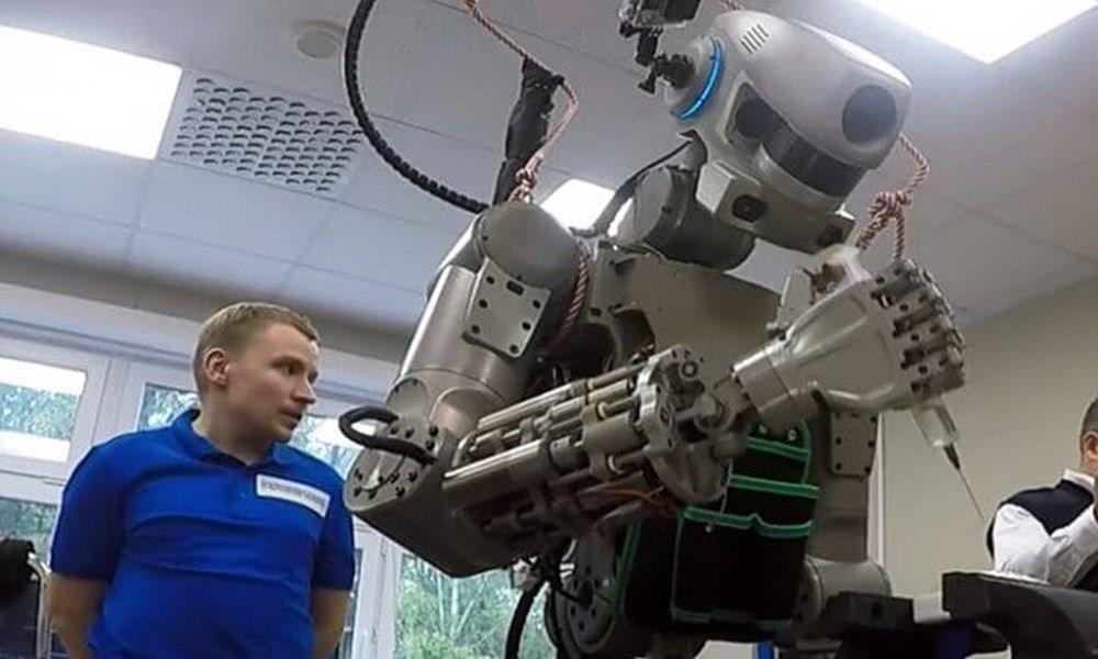 İnsansı robot Fedor: İnsanlar hakkında iyi düşünmüyorum - 3