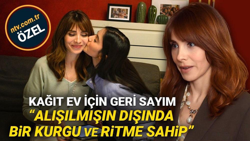Kağıt Ev'in Aylin'i Nur Fettahoğlu yeni dizini anlattı