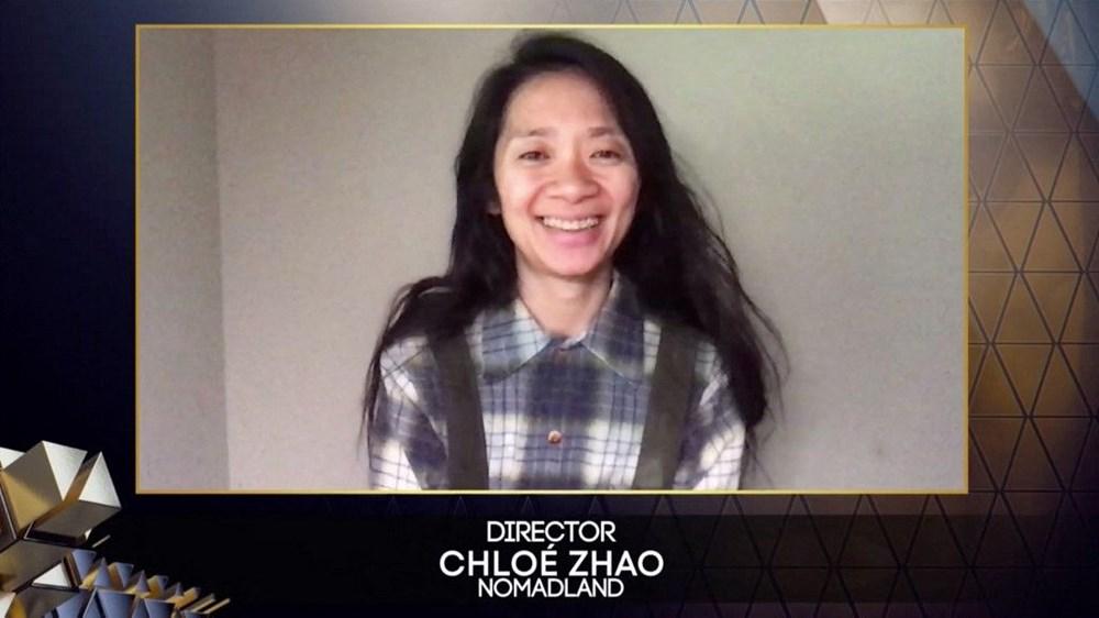 """Ən yaxşı rejissor - Chloé Zhao, """"Nomadland"""""""
