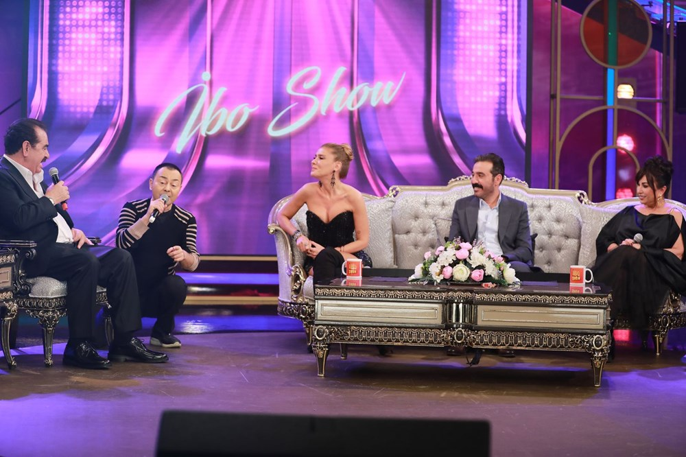 İbo Show yeni bölüm fotoğrafları: İbrahim Tatlıses'in kızı Elif Ada ilk kez stüdyoda - 9
