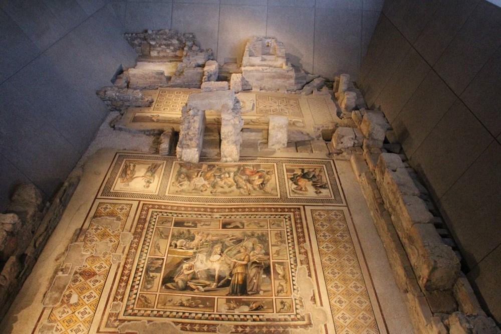Dev mozaiğin yer aldığı müzede sona yaklaşıldı | NTV