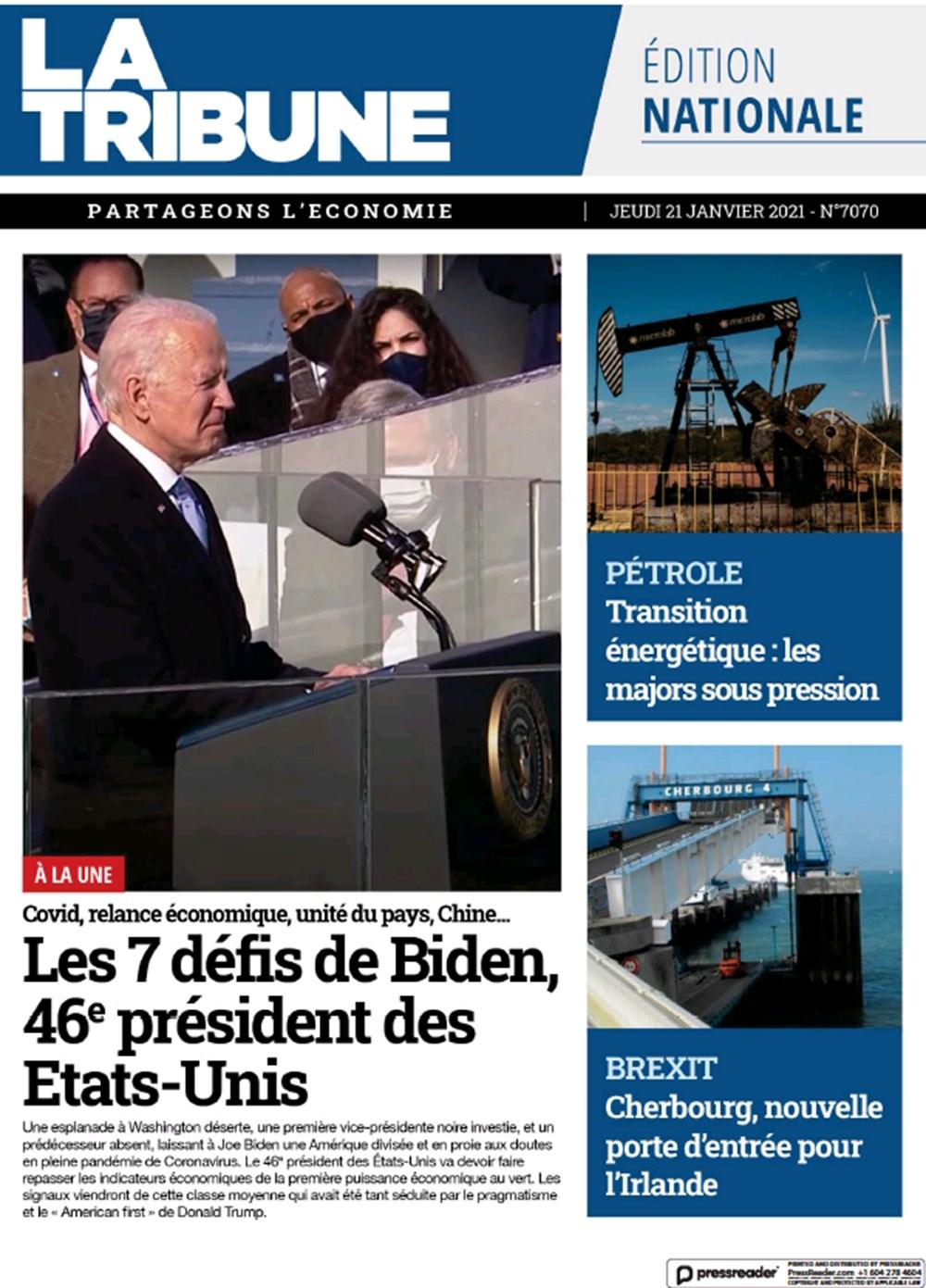 Dünya manşetlerinde Joe Biden: ABD'nin kurtuluşu - 14