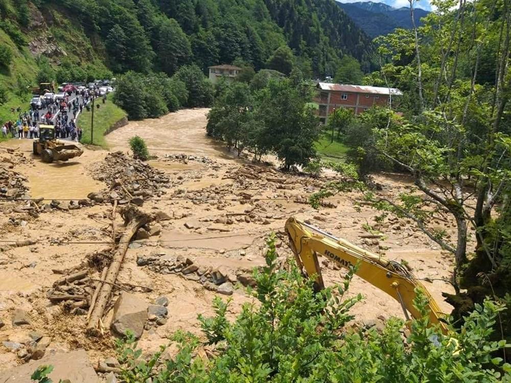 Şiddetli yağış Rize'yi de vurdu: 2 can kaybı - 14