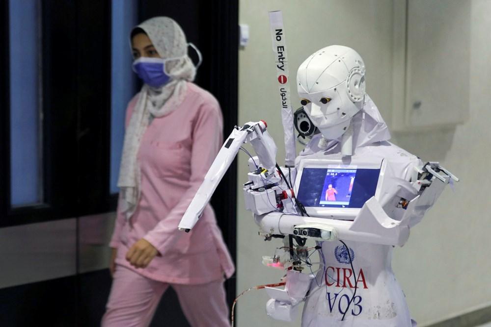 Mısır'da Covid-19'a karşı robotla mücadele - 4