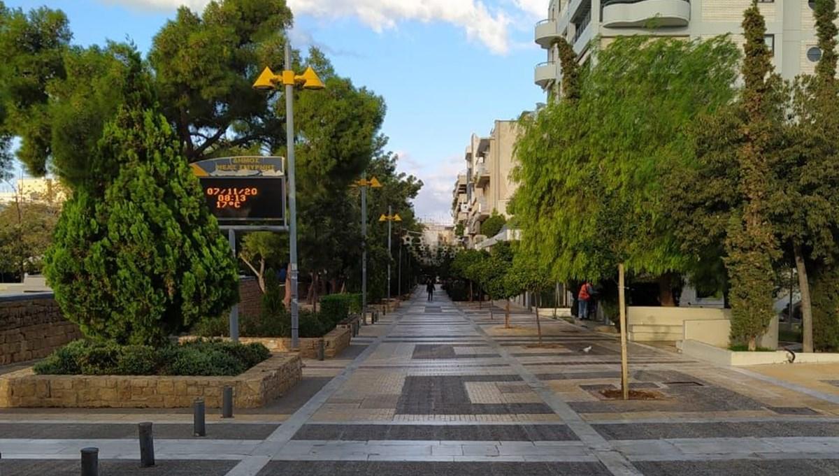 Corona virüs vakalarındaki artış kısıtlamaları beraberinde getirdi:Yunanistan'da sessiz hafta sonu