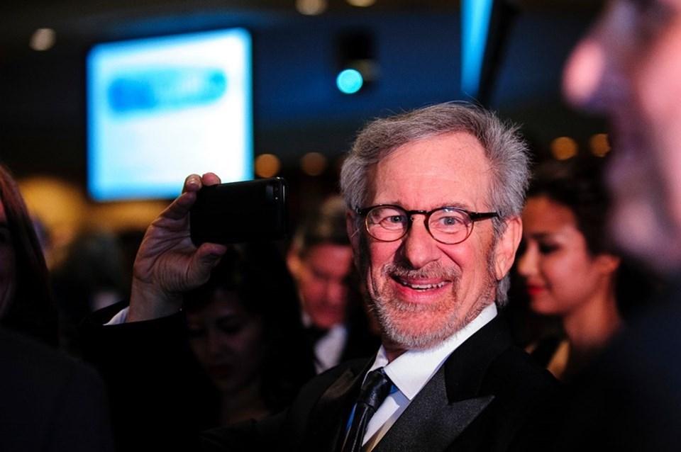 Ünlü yönetmen Steven Spielberg,en güçlü 100 isim arasında 40'ıncı oldu.