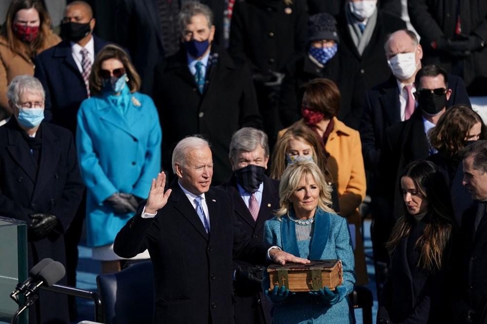 Joe Biden'ın yemin töreninden kareler (ABD'nin 46. Başkan Joe Biden göreve başladı) - 25