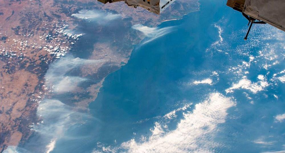 Devasa toz bulutu uzaydan görüntülendi (8 bin kilometre yol kat etti) - 46