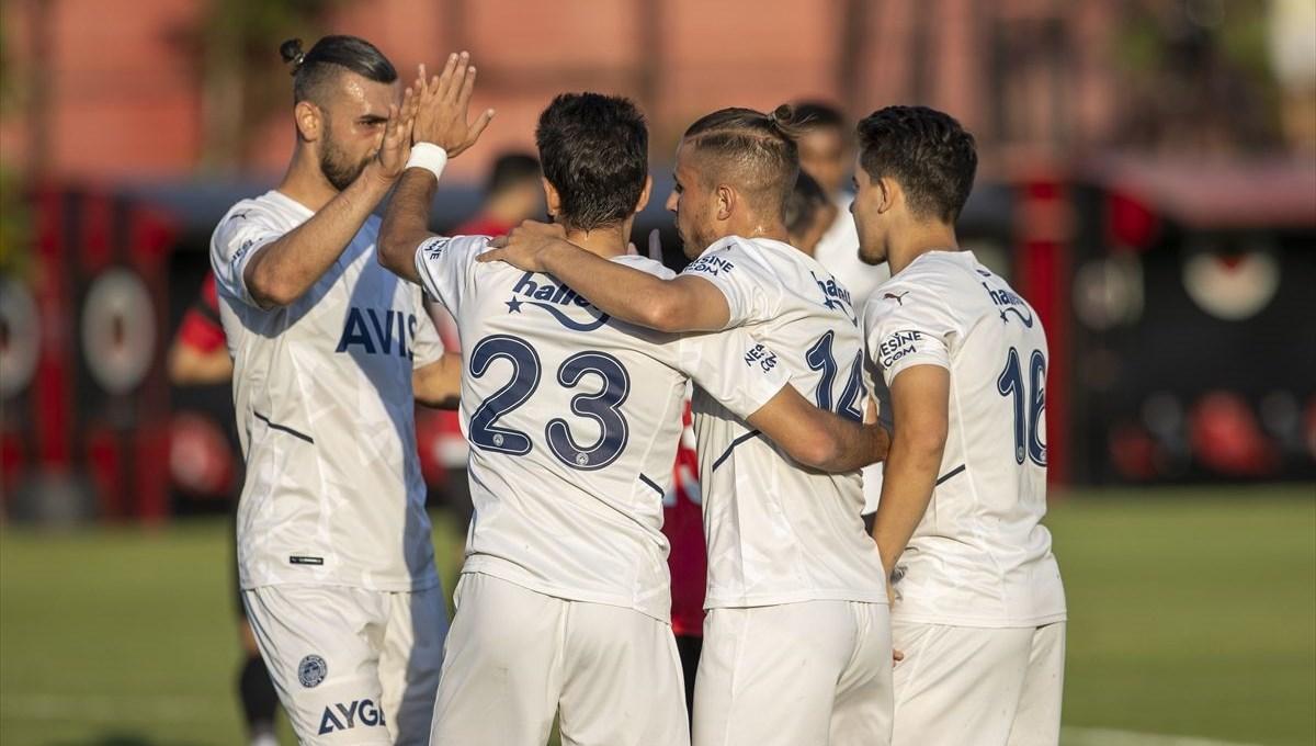 Fenerbahçe hazırlık maçında Gençlerbirliği'ni 4-0 yendi