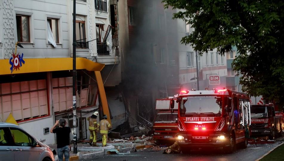 İstanbul'da tekstil atölyesinde patlama: 3 yaralı | NTV