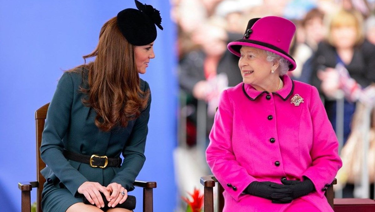 Kraliçe Elizabeth'ten Kate Middleton'a doğum günü kutlaması