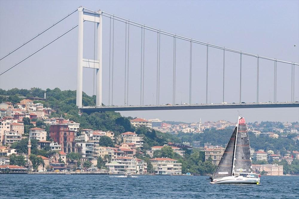 Yelkenci Tolga Pamir, rekor için Türkiye'nin 4 denizini boydan boya geziyor - 5