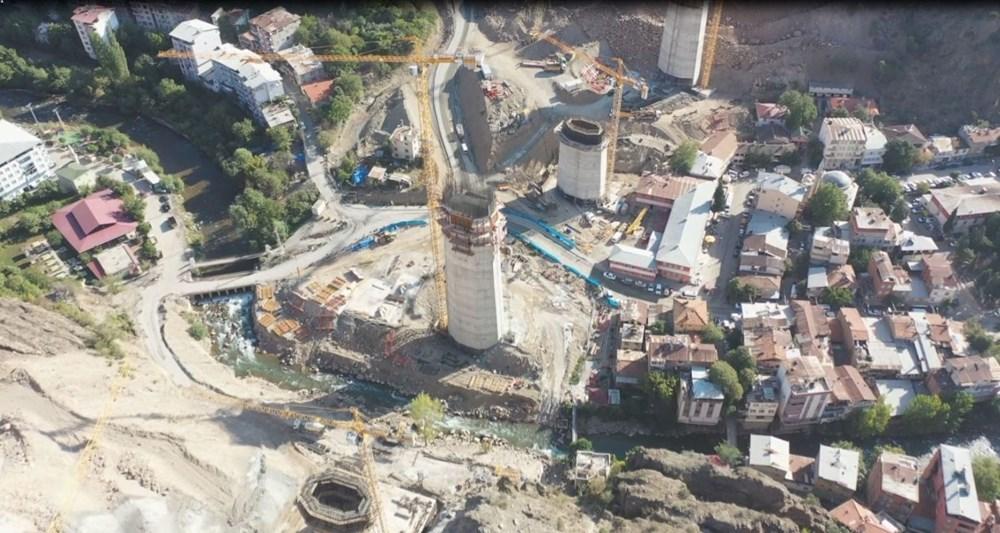 Türkiye'nin en yüksek ayaklı ikinci viyadüğü açılıyor - 2