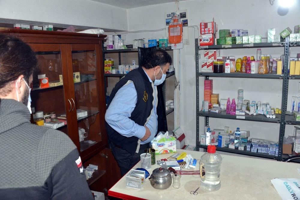 Suriyelilerin işlettiği 6 kaçak kliniğe polis baskını - 14
