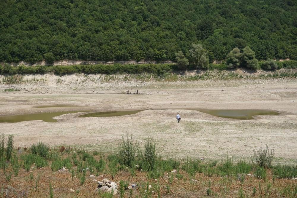 İstanbul'un su ihtiyacını karşılayan Trakya'daki barajlar kurudu - 22