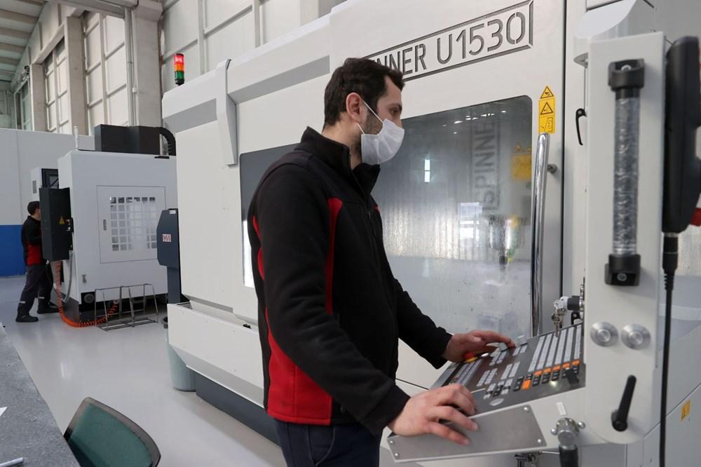Türkiye'nin yeni İHA fabrikası üretime başladı - 8