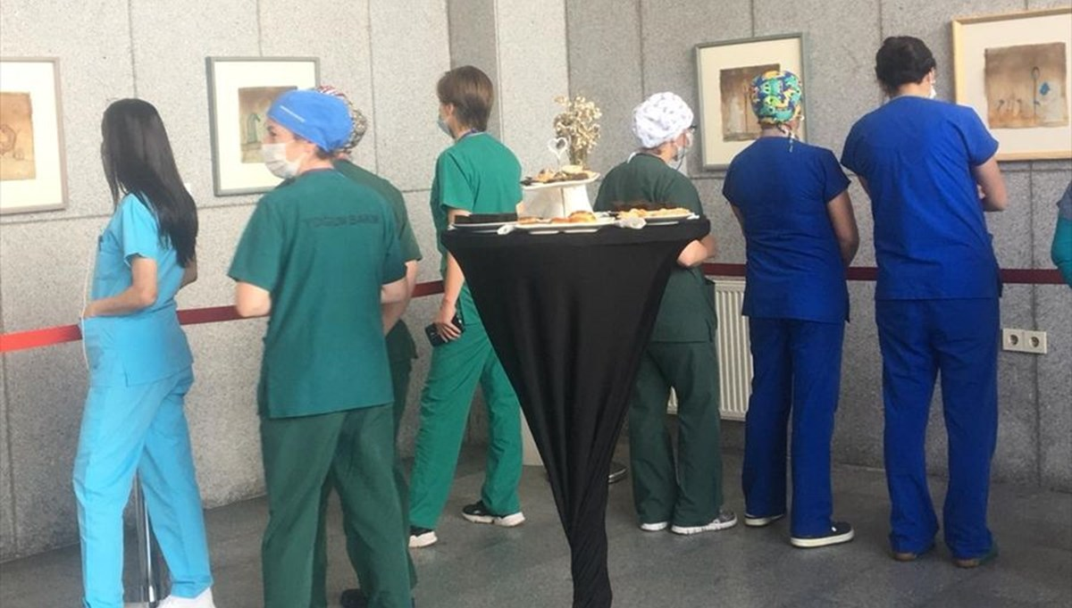 Karantina-Yeni Medeniyet sergisini sadece sağlık çalışanları görebilecek