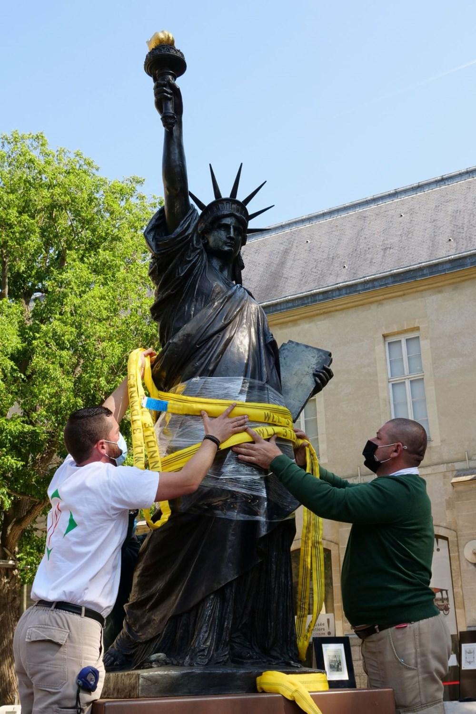 Fransa'dan ABD'ye yeni Özgürlük Heykeli - 2