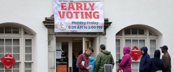 ABD'de erken oy kullananların sayısı 23 milyonu aştı