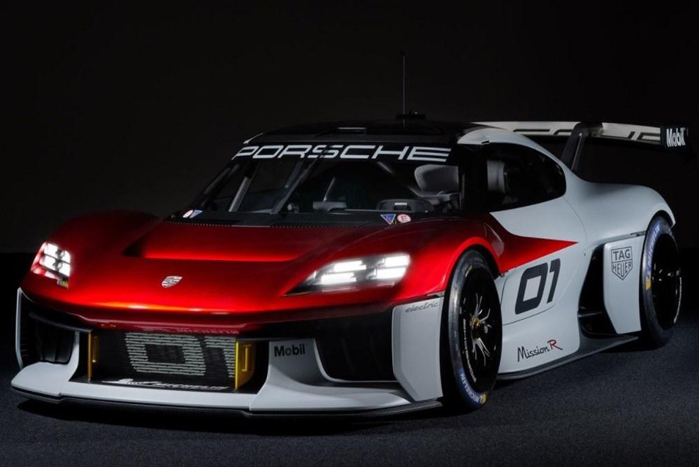 Porsche Mission R Konsepti tanıtıldı: Elektrikten gelen 1.088 beygirlik güç - 4