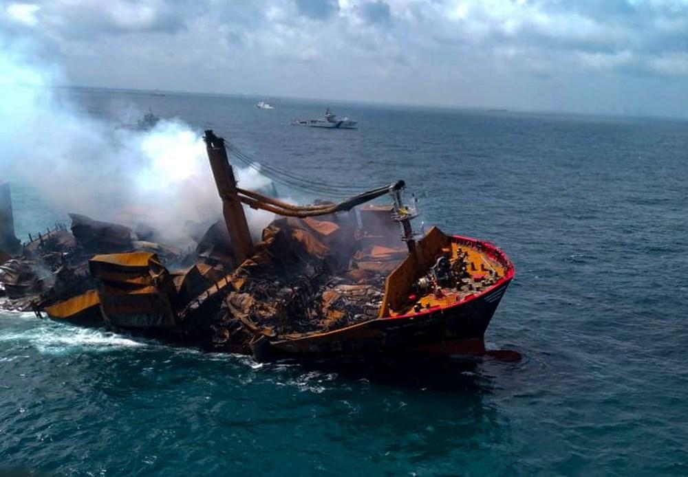 Kimyasal madde taşıyan gemi battı: Sri Lanka çevre felaketiyle karşı karşıya - 5