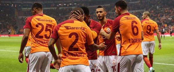 Galatasaray'dan gol yağmuru!