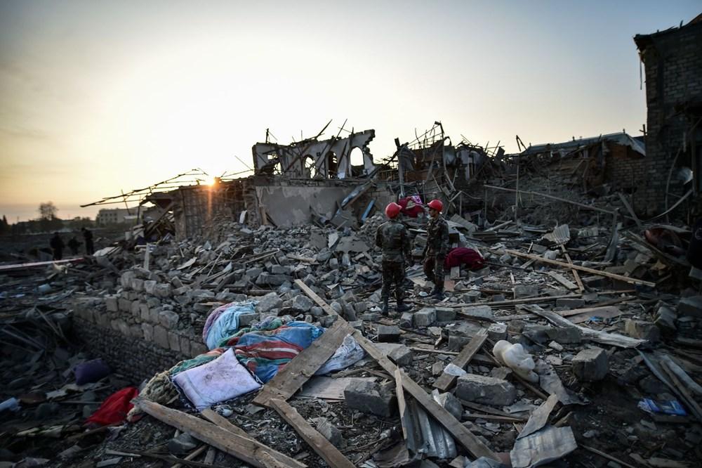 Ermenistan'ın Gence'ye füze saldırısının şiddeti gün ağarınca ortaya çıktı - 14