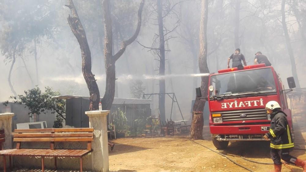 Antalya Manavgat'ta büyük orman yangını - 13
