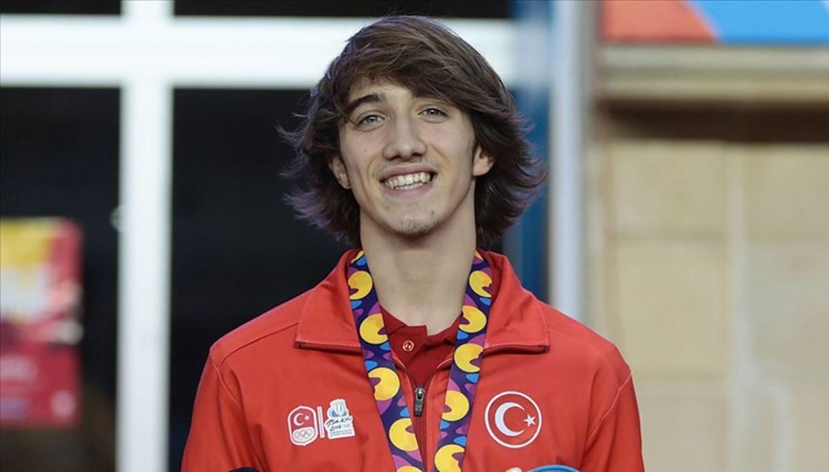 SON DAKİKA HABERİ: Milli sporcu Berke Akçam, atletizmde altın madalya kazandı