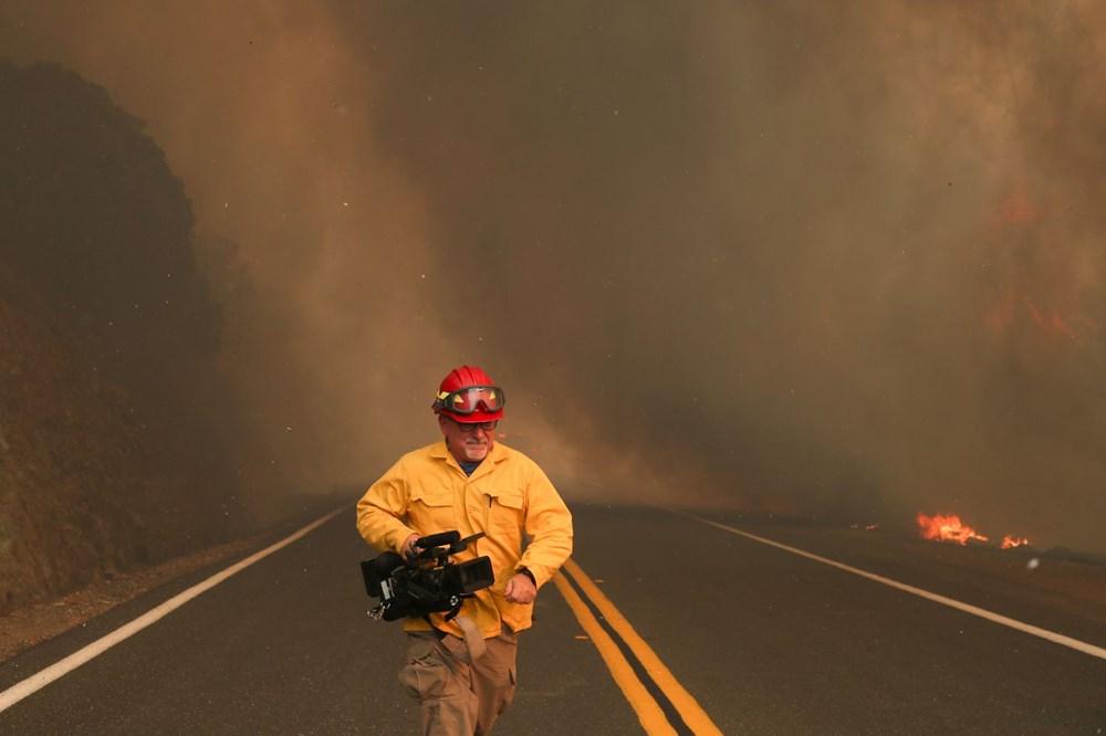 California'da 8 bin kilometrekare alan yandı, rekor kırıldı - 11