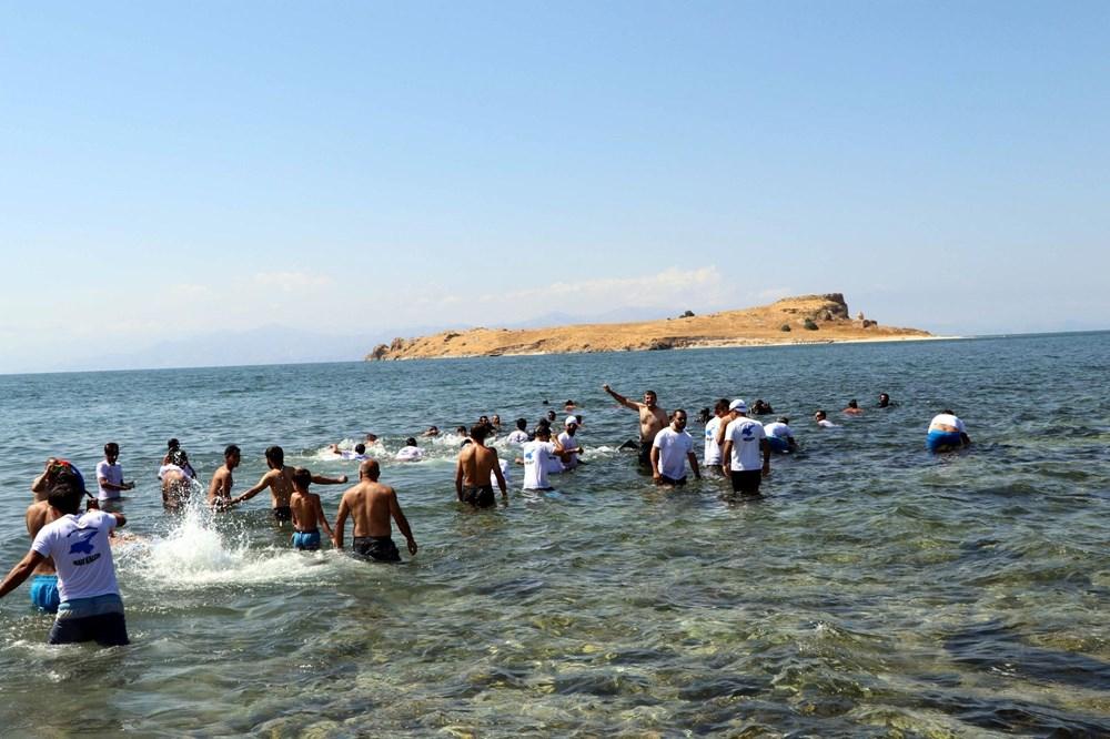 Su altındaki antik yoldan Çarpanak Adası'na ulaştılar - 3