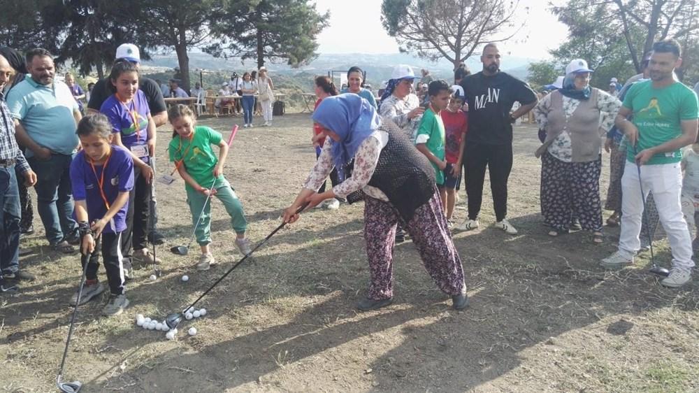 Köylülerin golf eğlencesi - 1