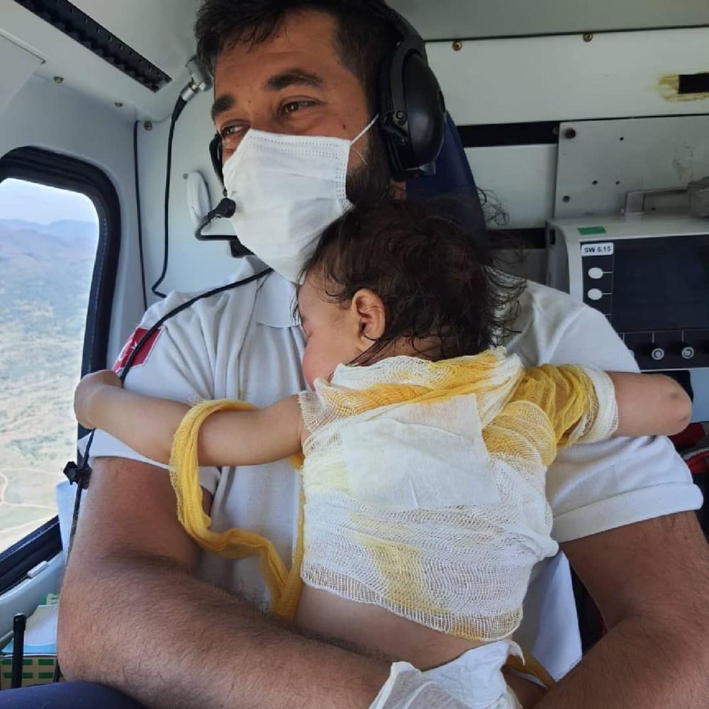 Beril bebekten iyi haber: Hayati tehlikesi yok - 11