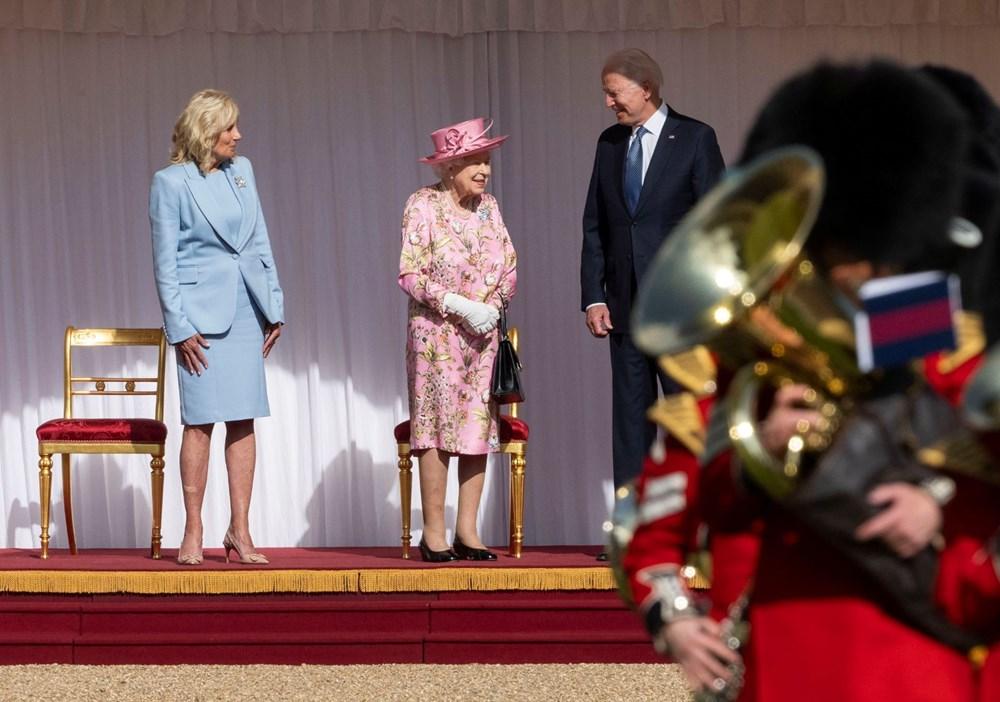ABD Başkanı Biden, İngiltere Kraliçesi Elizabeth ile buluştu - 9