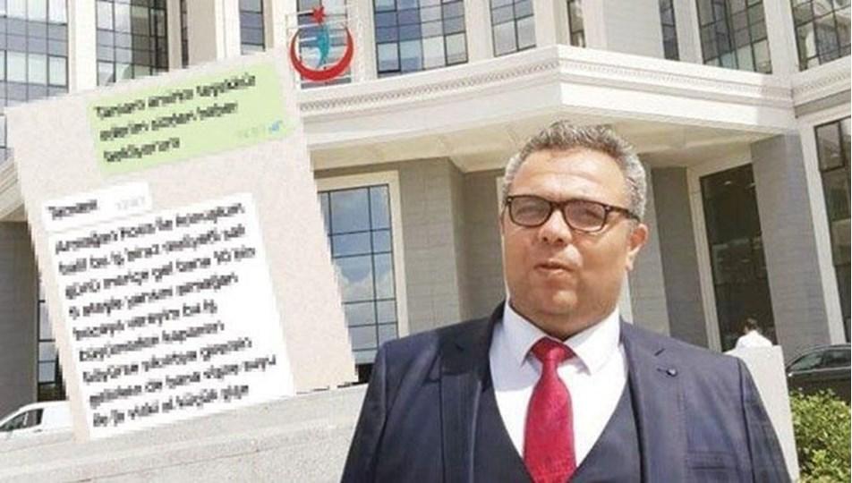Edirne'de WhatsApp mesajıyla rüşvet alan hastane müdürü görevden alındı