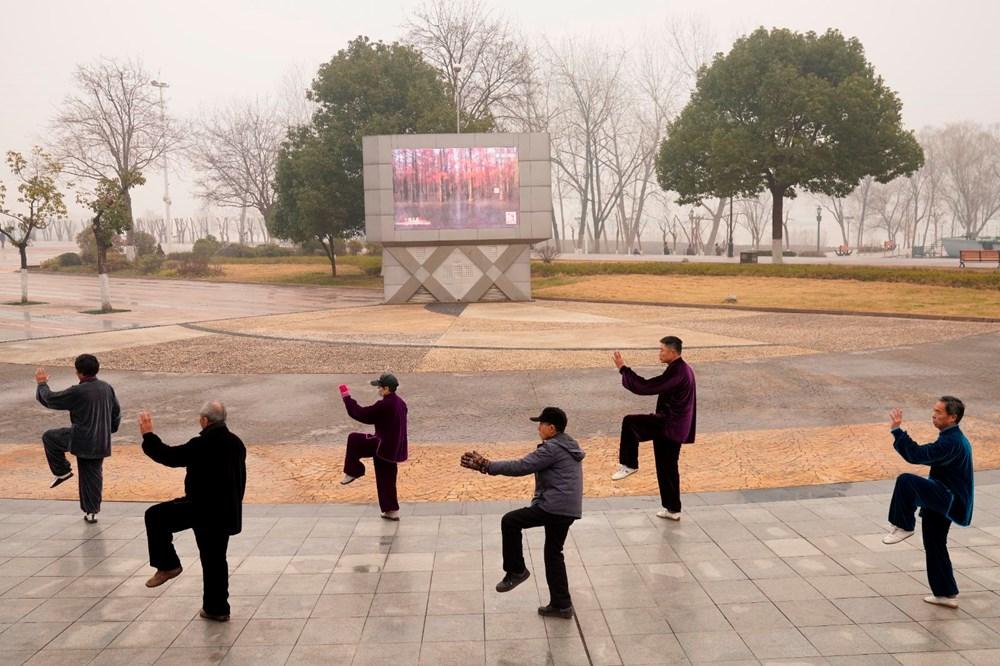 Wuhan'da salgından eser yok: Sıkı karantinanın yıldönümü - 17
