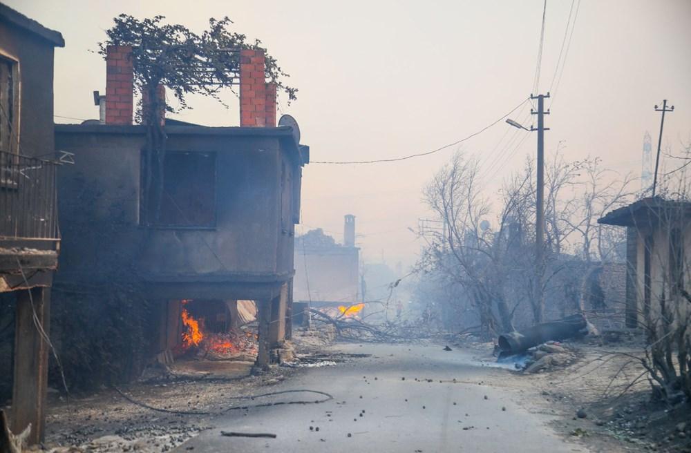 Manavgat'taki yangın evleri kül etti - 7