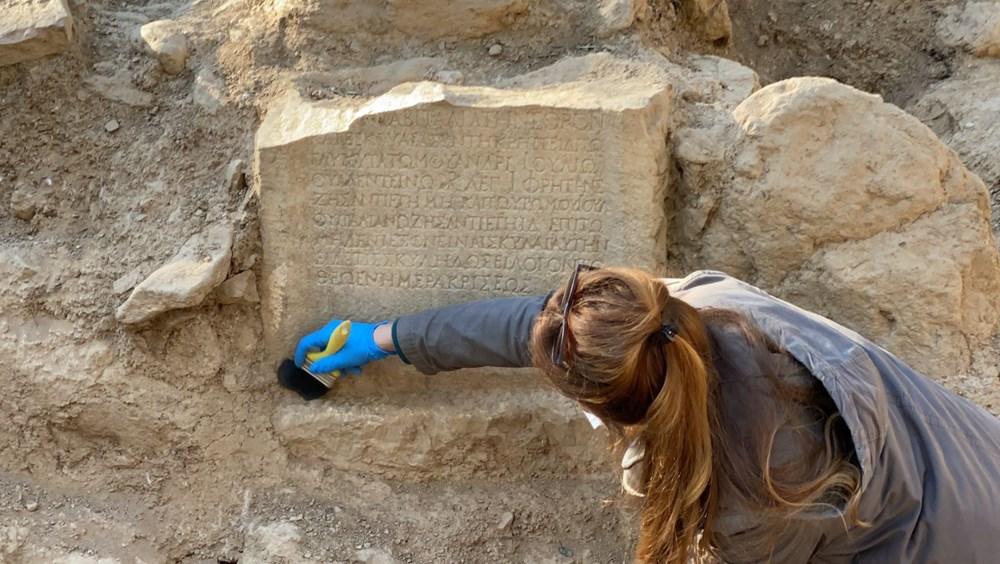 İznik'teki lahit mezarlarında 1500 yıllık mesaj bulundu - 7