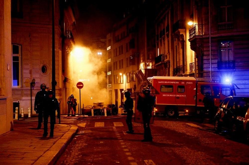 PSG finali kaybetti, Paris karıştı: 83 gözaltı - 6