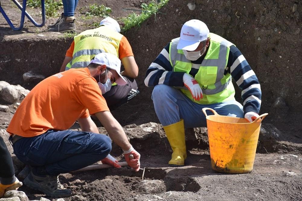 Bilecik'teki kazılarda 9 bin yıl öncesine ait yaşam alanları gün yüzüne çıkarıldı - 4