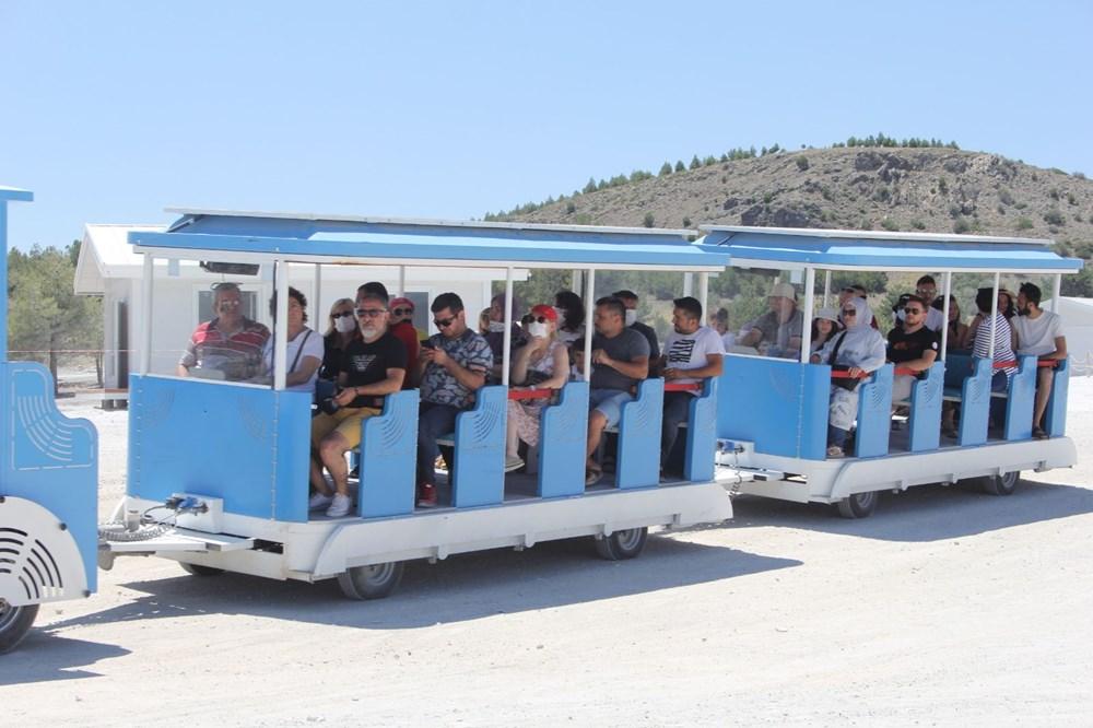 Salda Gölü'ne araç girişi yasaklandı, 'Gara Tren' dönemi başladı - 7