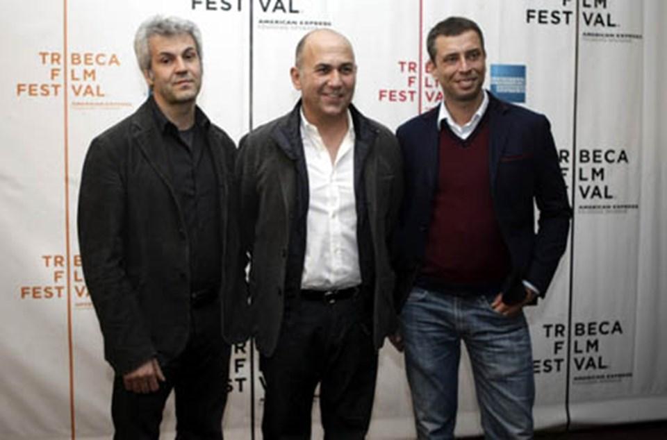 Filmin ilk gösterimine Özpetek,senarist Ivan Cotreno (Sağda) ve yapımcı Domenico Procacci (Solda) ile katıldı.