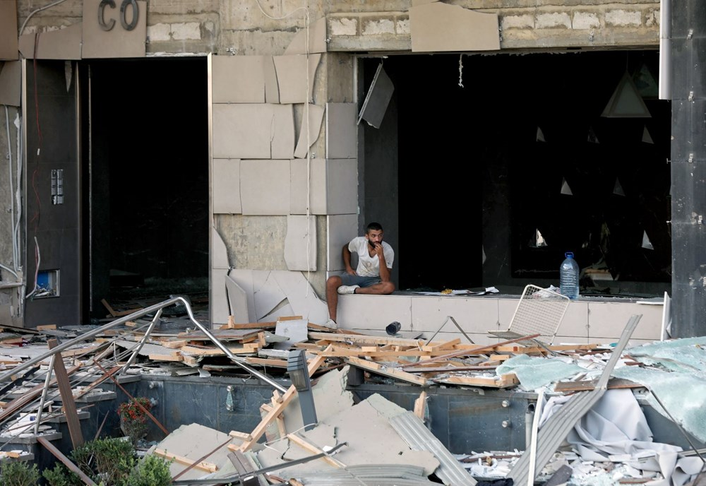 Beyrut'ta patlama: 100 kişi öldü, iki hafta OHAL ilan edildi - 26