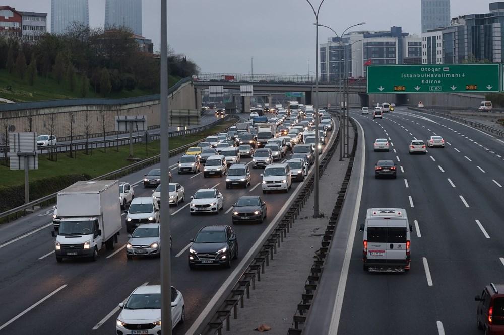 İstanbul'da, 'tam kapanma' öncesinde kaçış trafiği - 9