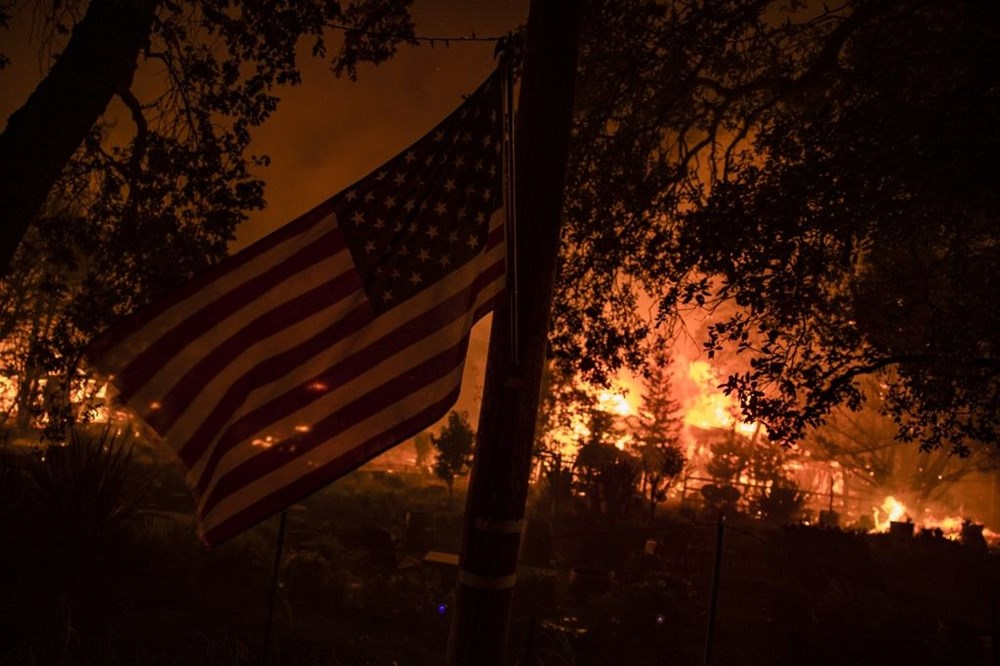 California'da yangınlar bitmiyor - 10