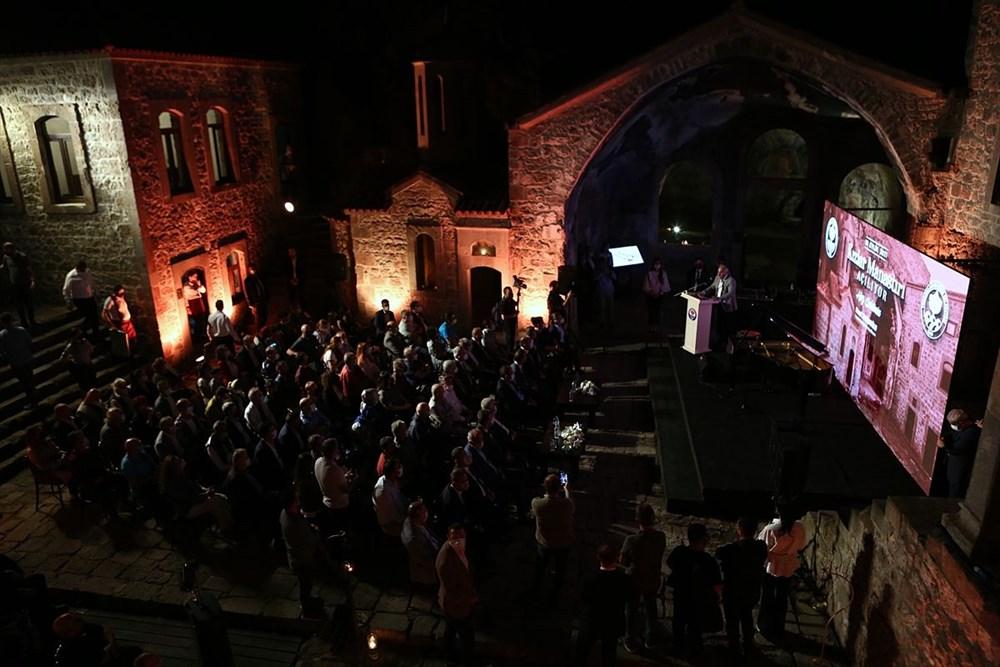 Trabzon'da restorasyonu tamamlanan Kızlar Manastırı ziyarete açıldı - 6