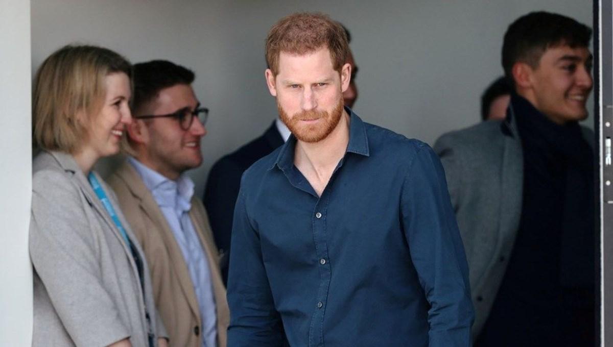 Prens Harry: Polis haber vermek için 03.00'te geldi