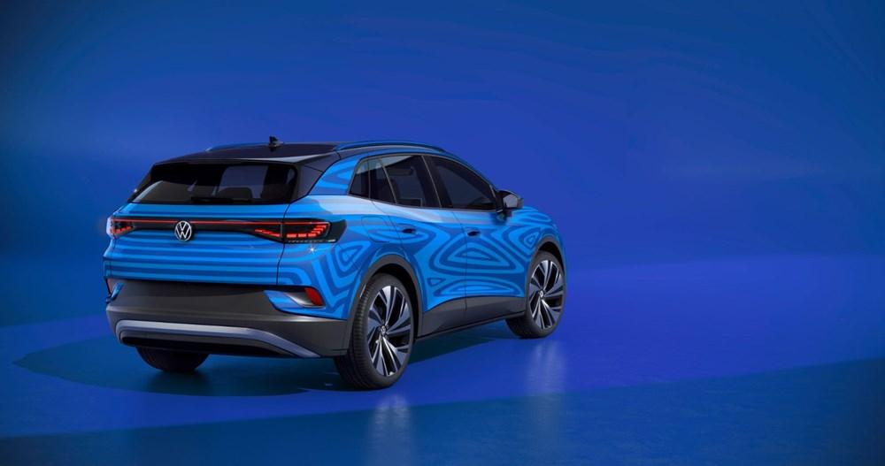 Volkswagen'in ilk elektrikli SUV'u ID.4'ün seri üretimine başlandı - 4