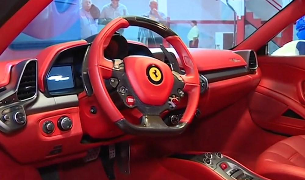Tosuncuk'un Uruguay maceraları 3: Başını yakan Ferrari'nin görüntüleri ortaya çıktı - 4
